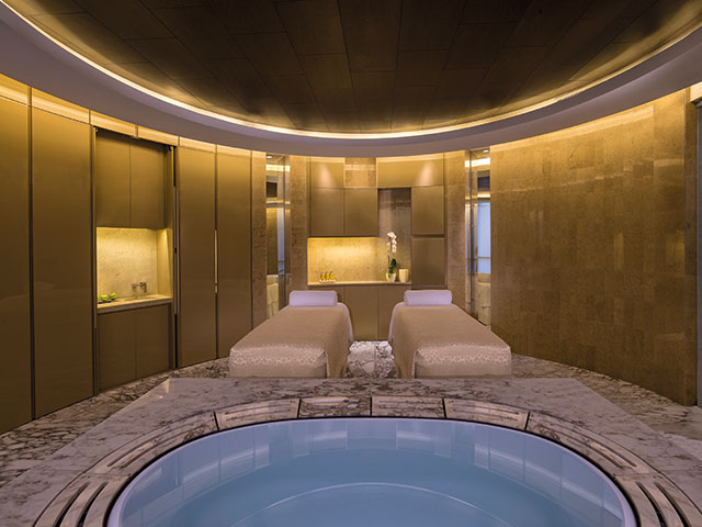 42Spa double treatment room