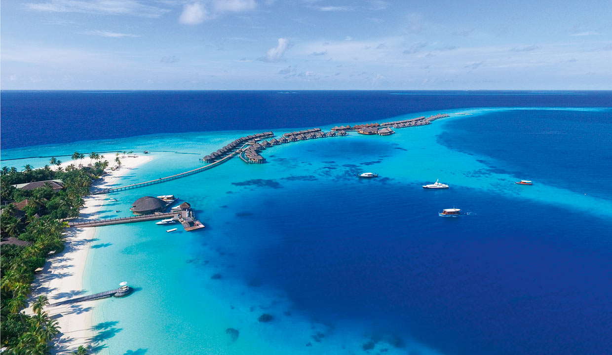Halaveli Maldives 2016 Aerial Gallery Top