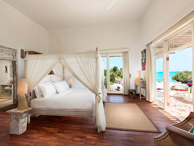 Zanzibar AB Presidential Villa Master Bedroom HD Gallery